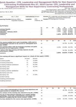 VA Evaluation